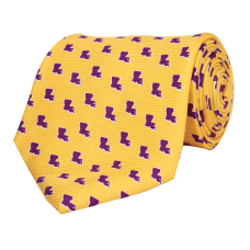 LA Gameday Gold Tie